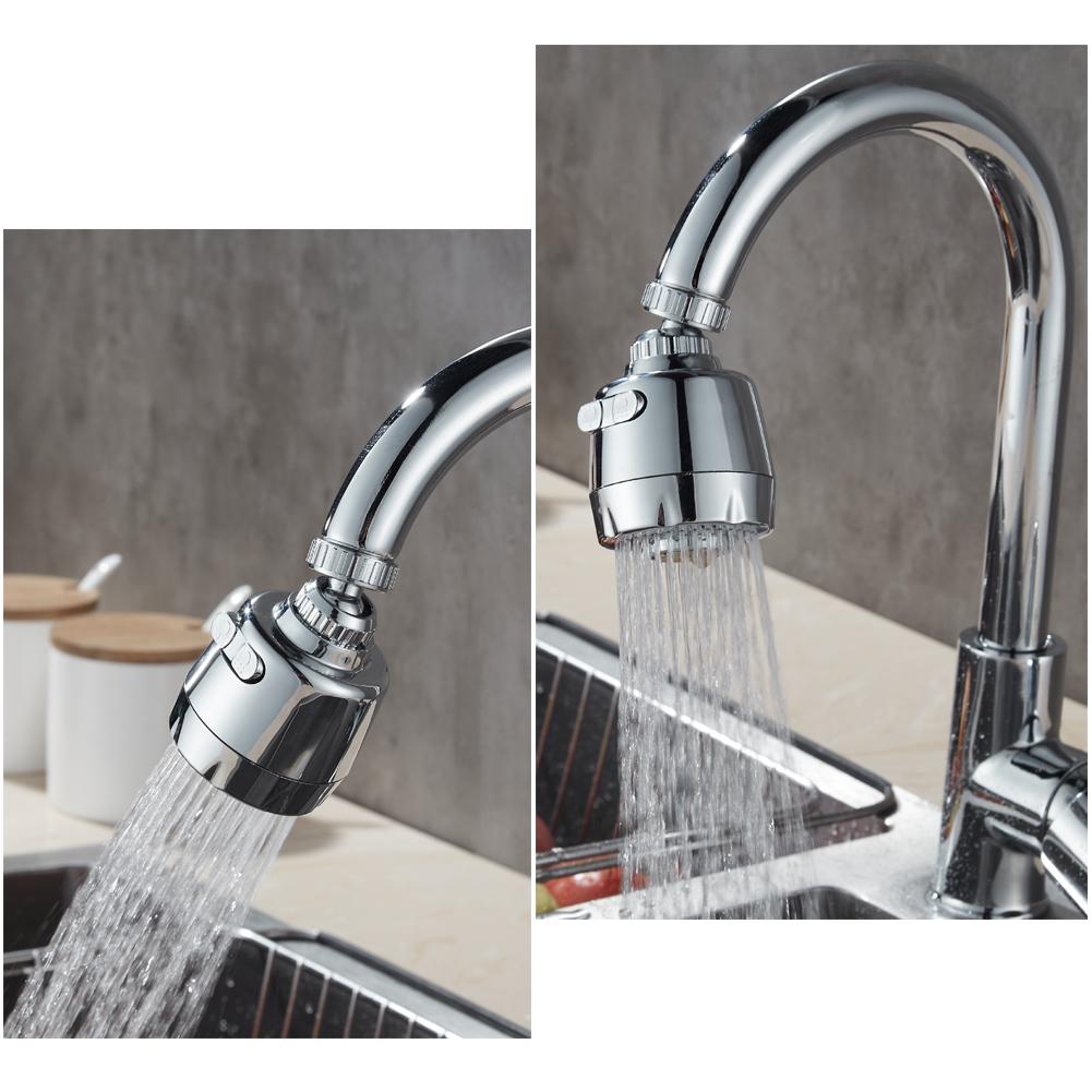 tuyau de robinet rallonge de robinet robinet rotatif /à 360 /° 2 pi/èces Buses moussantes pour robinets de cuisines et toilettes. douche de cuisine avec filtre